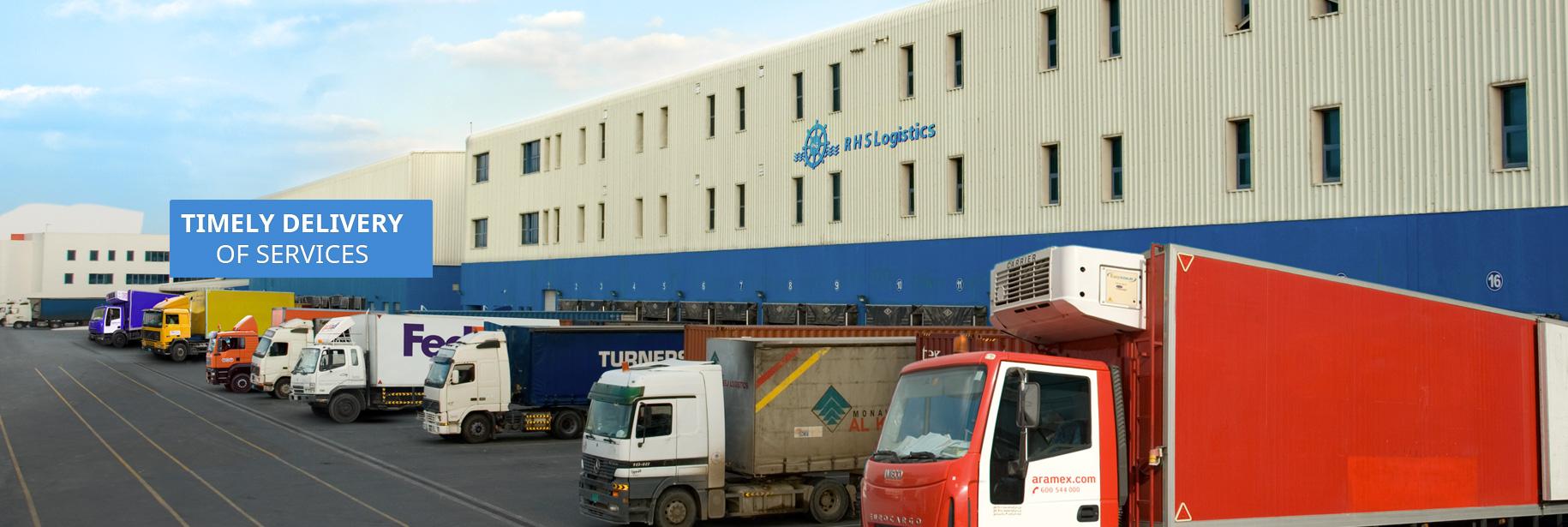 Rhs logistics logo